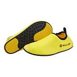 [밸롭] BALLOP - 아쿠아슈즈 웨이브 옐로우 워터파크 신발 실내운동화
