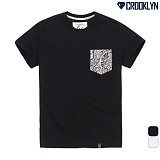 [크루클린] CROOKLYN 패턴 포켓 반팔 티셔츠 TRS175 반팔티