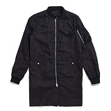 [블랙스케일]BLACK SCALE MA-1 EXTENDED JACKET (Black) 재킷 자켓