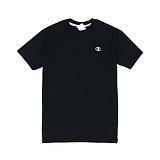 챔피온 맨즈 로고 반팔 티셔츠 블랙 CT2226 003 남녀공용 정품 국내배송