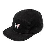 [위티나트]WxA - COLADOG CAMPCAP (black)_캠프캡_모자
