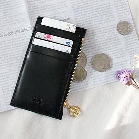 [디랩]D.LAB - Gato zipper wallet - Black  지갑