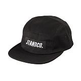 [제이티앤씨오]JTANDCO. CAMP CAP (BLACK) 로고 캠프캡