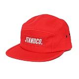 [제이티앤씨오]JTANDCO. CAMP CAP (RED) 로고 캠프캡