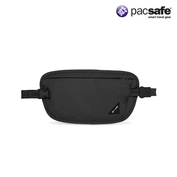 [팩세이프]PACSAFE - Coversafe X100 Black 공식수입정품 (숨겨서 착용할 수 있는 와이어 비밀 허리전대 복대)