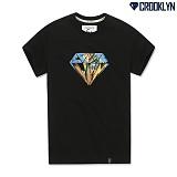 [크루클린] CROOKLYN 그래픽 다이아몬드 반팔티셔츠 TRS186 반팔티