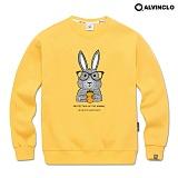 [앨빈클로]ALVINCLO MAR-797M 스타일 리시한 래빗 스웨트 셔츠 맨투맨 크루넥 스��셔츠