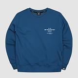 [마실러]MARSILER - CLIP - Navy 클립 크루넥 스��셔츠 맨투맨