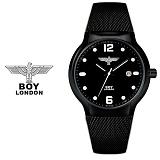 [BOY LONDON]보이런던 BLD741-BK 남성 메탈손목시계