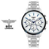 [BOY LONDON] 보이런던시계 BLD9215-BL 남성 메탈손목시계