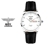 [BOY LONDON]보이런던 BLD5115M-SV 남성 가죽손목시계