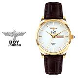 [BOY LONDON]보이런던 BLD5115M-GD 남성 가죽손목시계