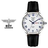[BOY LONDON]보이런던 BLD5150M-SV 남성 가죽손목시계