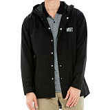 [오베이]OBEY - TRANSPONDER GRAPHIC JACKET 121800184 (BLACK) 후드 코치자켓