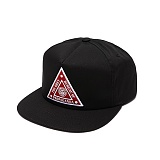 [오베이]OBEY - HAZARD SNAPBACK 100510021 (BLACK) 스냅백