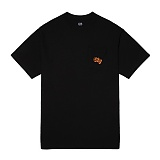 [오베이]OBEY - ORANJE SCRIPT POCKET TEE 163571104 (BLACK) 포켓 반팔티셔츠
