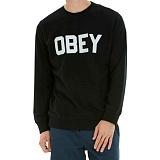 [오베이]OBEY - FORDAM CREW 111600079 (BLACK) 맨투맨