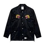 STIGMA - EMB TIGER COACH JACKET BLACK_코치자켓_자켓