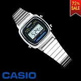 CASIO Digital Silver-Black 여성용(상품코드:11837)