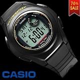CASIO Resin Digital black watch (상품코드:11834)