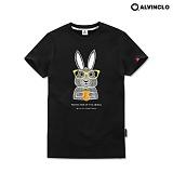 [앨빈클로]ALVINCLO 귀여운 토끼 반팔티셔츠ast-3797b 반팔 반팔티셔츠 티셔츠