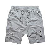 [플라잉나인티]FLYING NINETY - FNTY distresed drop crotch shorts GREY 숏 팬츠 반바지