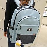 ���ּ��ϡڴܵ��Ǹš�[���̺�ε�] ABROAD - Crazy Backpack (sky blue)_ ũ������ ���� �л�� ���� ��ī�̺��