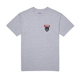 [브릭스톤]BRIXTON - RONAN S/S STND TEE 116-06390-0338 (HEATHER GREY/RED) 반팔티셔츠