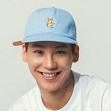 언브라운 - 볼캡 CORGI 6P BALL CAP (SKYBLUE) 볼캡 야구모자 모자 야구모