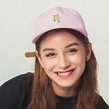 언브라운 - 볼캡 CORGI 6P BALL CAP (PINK) 볼캡 야구모자 모자 야구모