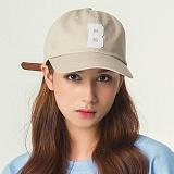 언브라운 - 캡 B LOGO 6P CAP (BEIGE) 볼캡 야구모자 모자 야구모