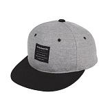 [세븐틴스]SEVENTEENTH - SNAPBACK LABEL GREY BLACK 스냅백 모자