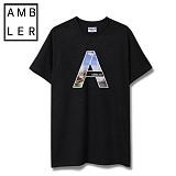 [엠블러]AMBLER 신상 반팔 티셔츠 AS304-블랙