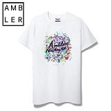 [엠블러]AMBLER 신상 반팔티셔츠 AS307-화이트