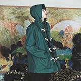 [그라운드워크]GROUNDWORK- 코튼 더플 자켓 / 그린 떡볶이 코트