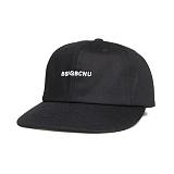 [비스폰지] BSPG BCNU LOGO CAP - BLACK 볼캡 야구모자