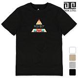 [DISCENE]디씬 RESPECT 루즈핏 반팔 티셔츠 4컬러