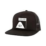 [폴러스터프]POLER STUFF - Summit Mesh Trucker (Black)