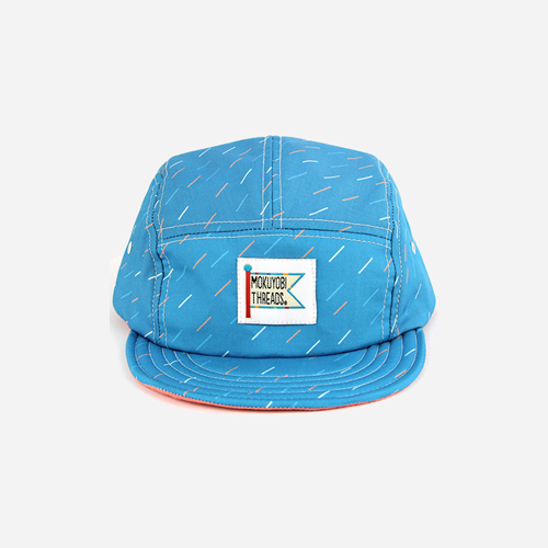 [모쿠요비]MOKUYOBI - 5 PANEL CAMP CAP (RAINING) 캠프캡