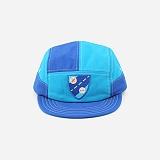 [모쿠요비]MOKUYOBI - 5 PANEL CAMP CAP (SHIELD BLUE) 캠프캡