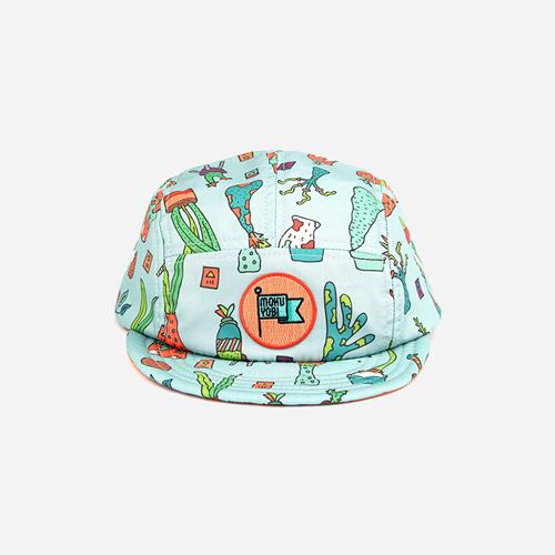[모쿠요비]MOKUYOBI - 5 PANEL CAMP CAP (PLANTER) 캠프캡