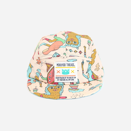 [모쿠요비]MOKUYOBI - 5 PANEL CAMP CAP (FUTURE PROGRESSION) 캠프캡