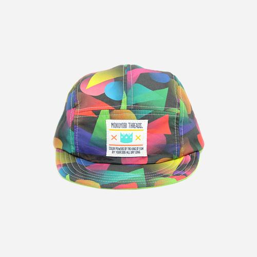 [모쿠요비]MOKUYOBI - 5 PANEL CAMP CAP (FADING SHAPE) 캠프캡