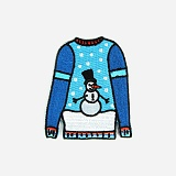 IRON-ON PATCHES (WINTER SWEATER)