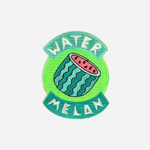 [모쿠요비]MOKUYOBI - IRON-ON PATCHES (WATER MELON) 패치