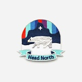 IRON-ON PATCHES (HEAD NORTH)