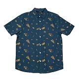[폴러스터프]POLER STUFF - S/S Wheelie Shirt (Blue Steel Wheelie)