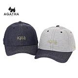CAP10 - 성인 공용 아가타 청 볼캡 AG62UCC004