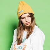[디어가든]DEAR GARDEN - GC-011 DEAR BEANIE YELLOW 비니