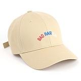 벨즈 - BADHAIR BALLCAP BEIGE 모자 야구모자